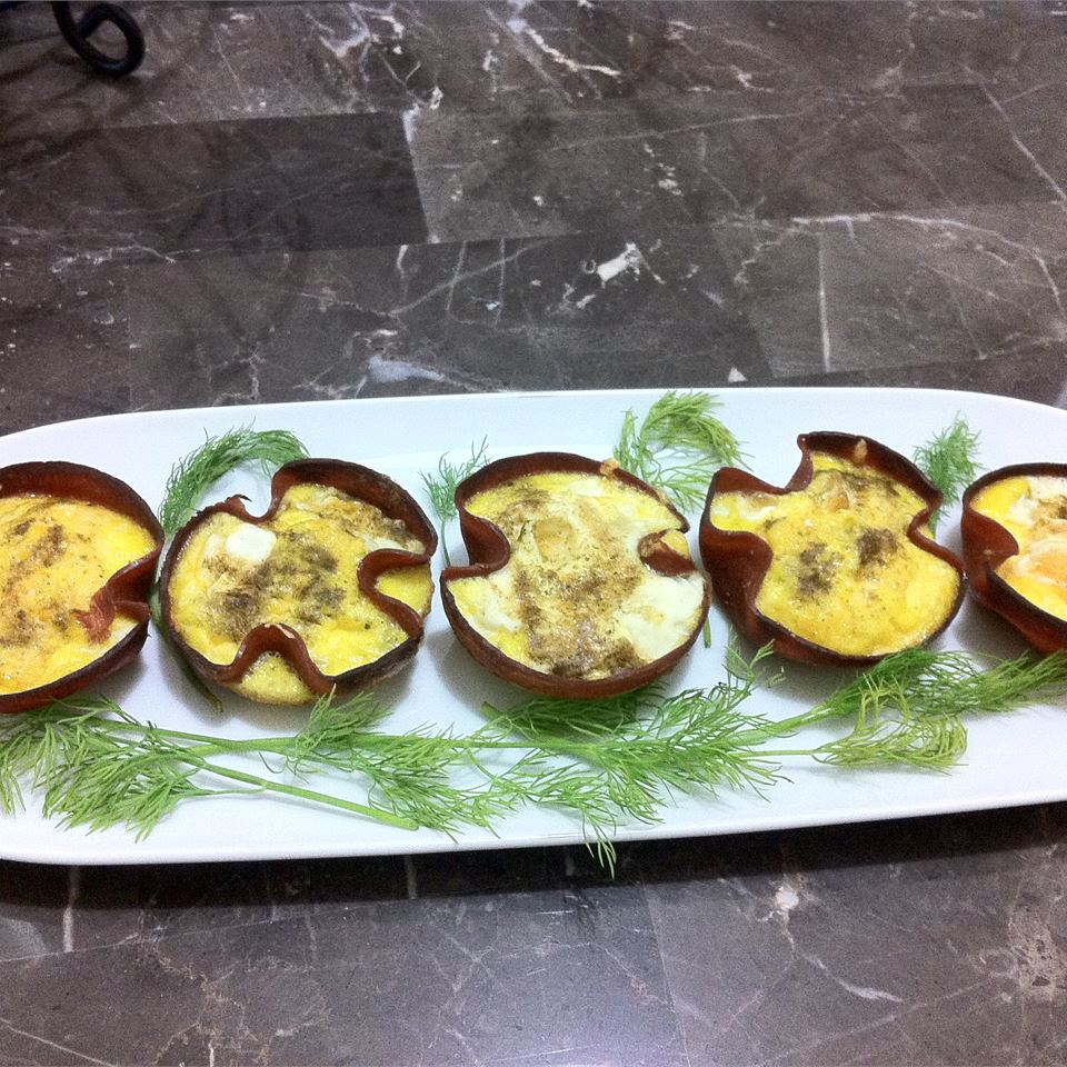 Green Egg and Ham Cups