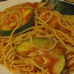 Zucchini Summer Pasta McBacon