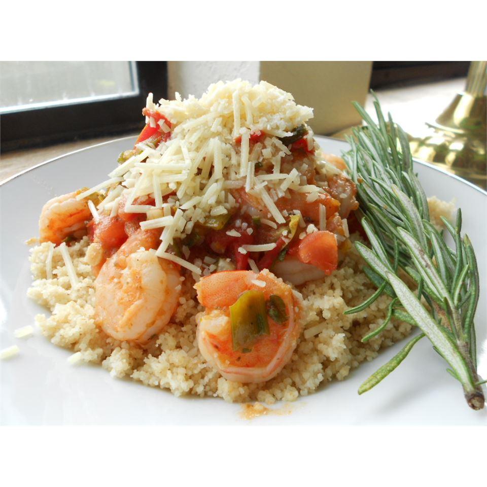 Shrimp with Tomatoes and Feta Cheese kellieann