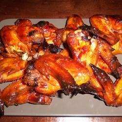 Candied Garlic Chicken Wings Tiffanylea