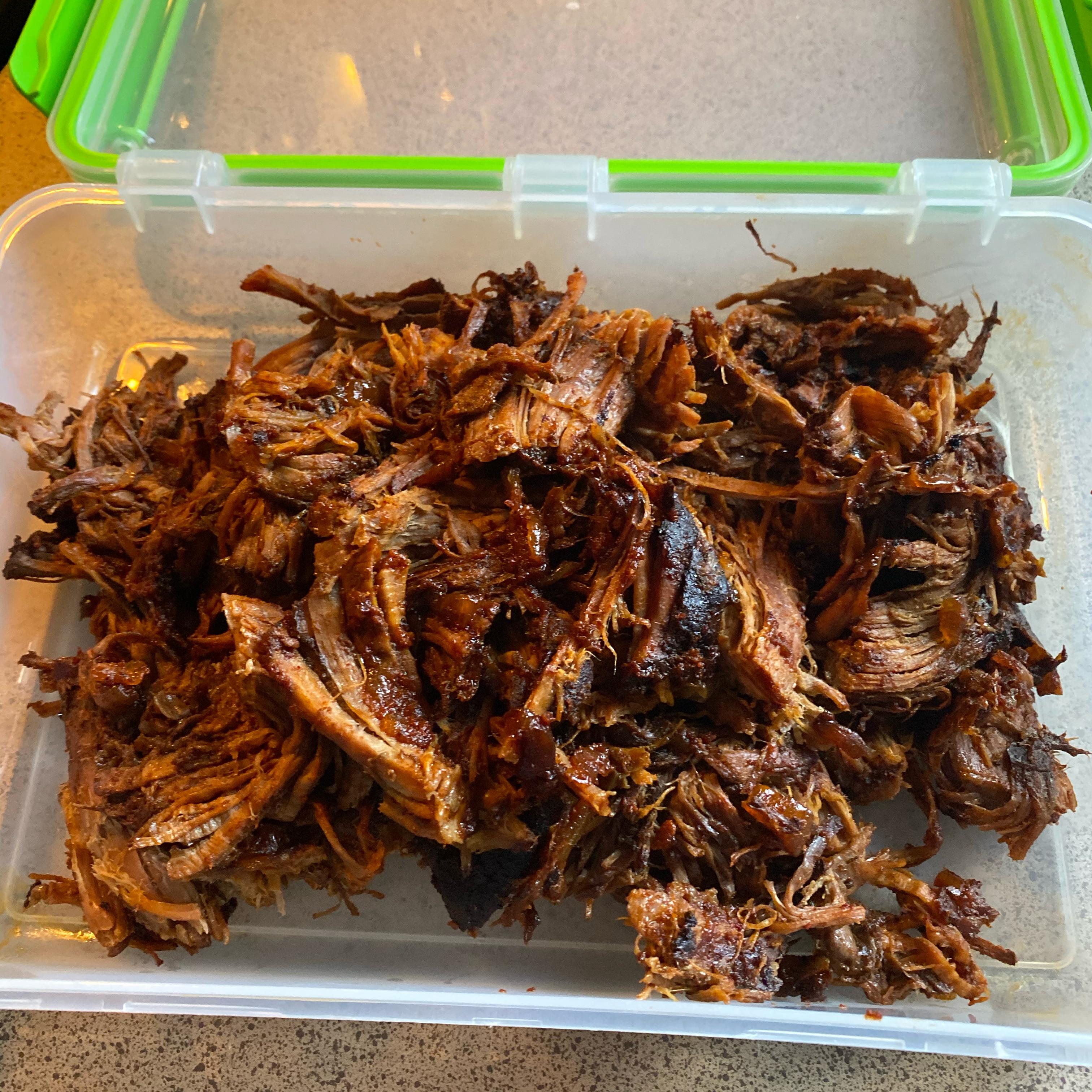 Barbeque Shredded Beef Crystal Lee Sandoval