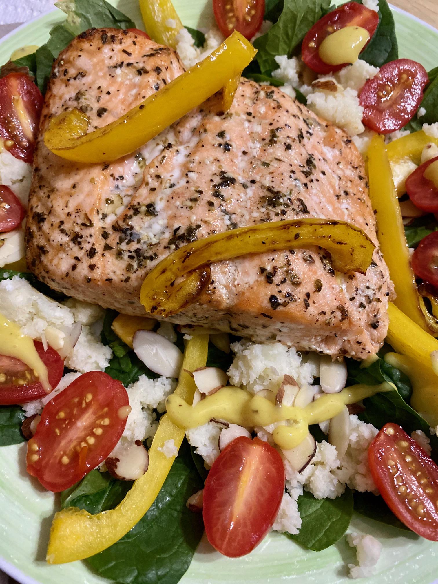 Baked Salmon II Roy Haley