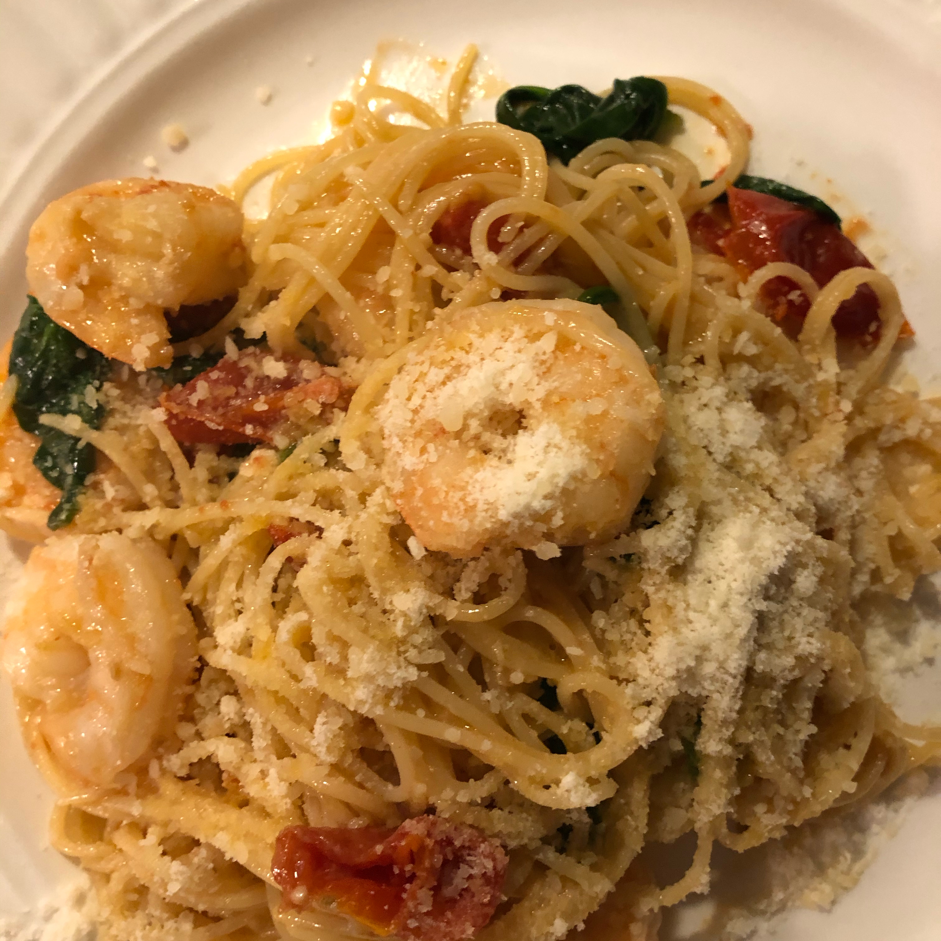 Shrimp Scampi with Sun-Dried Tomatoes Melody