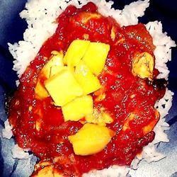 Curried Mango Chicken