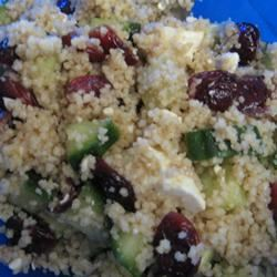 Couscous, Cranberry, and  Feta Salad Levedi