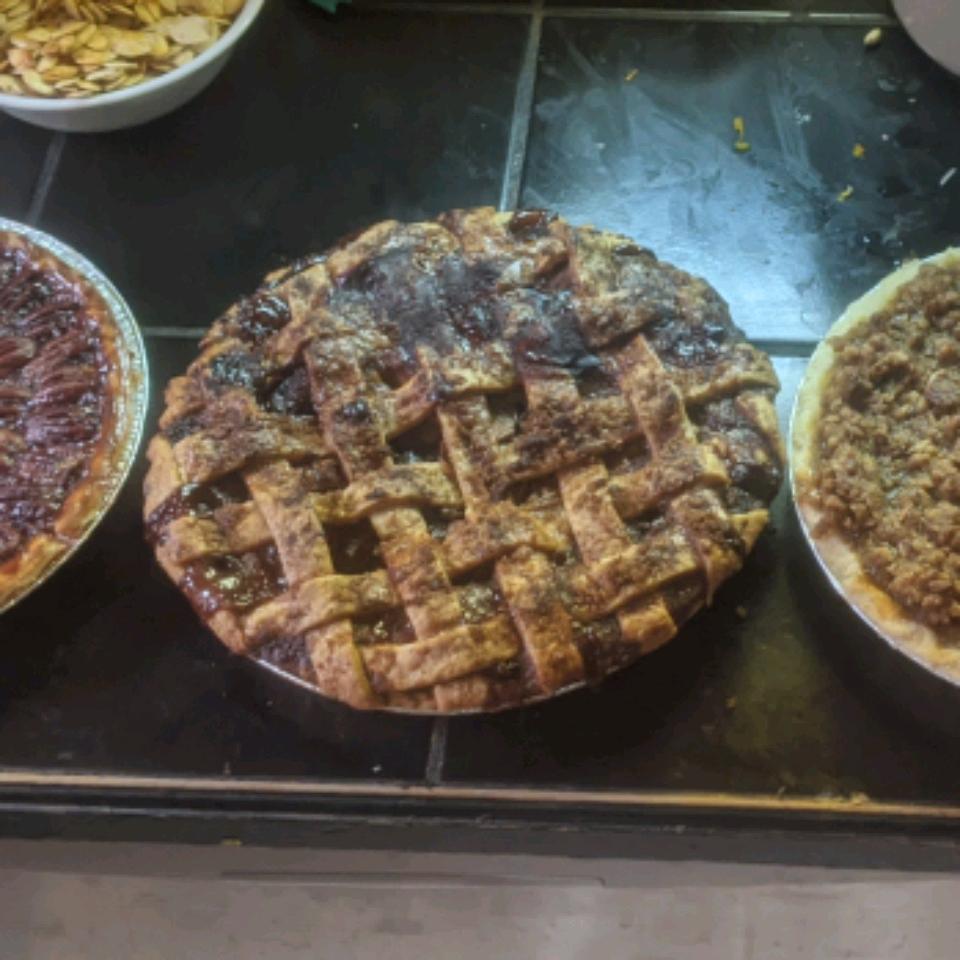 Caramel Apple Cranberry Pie Christopher Evensen