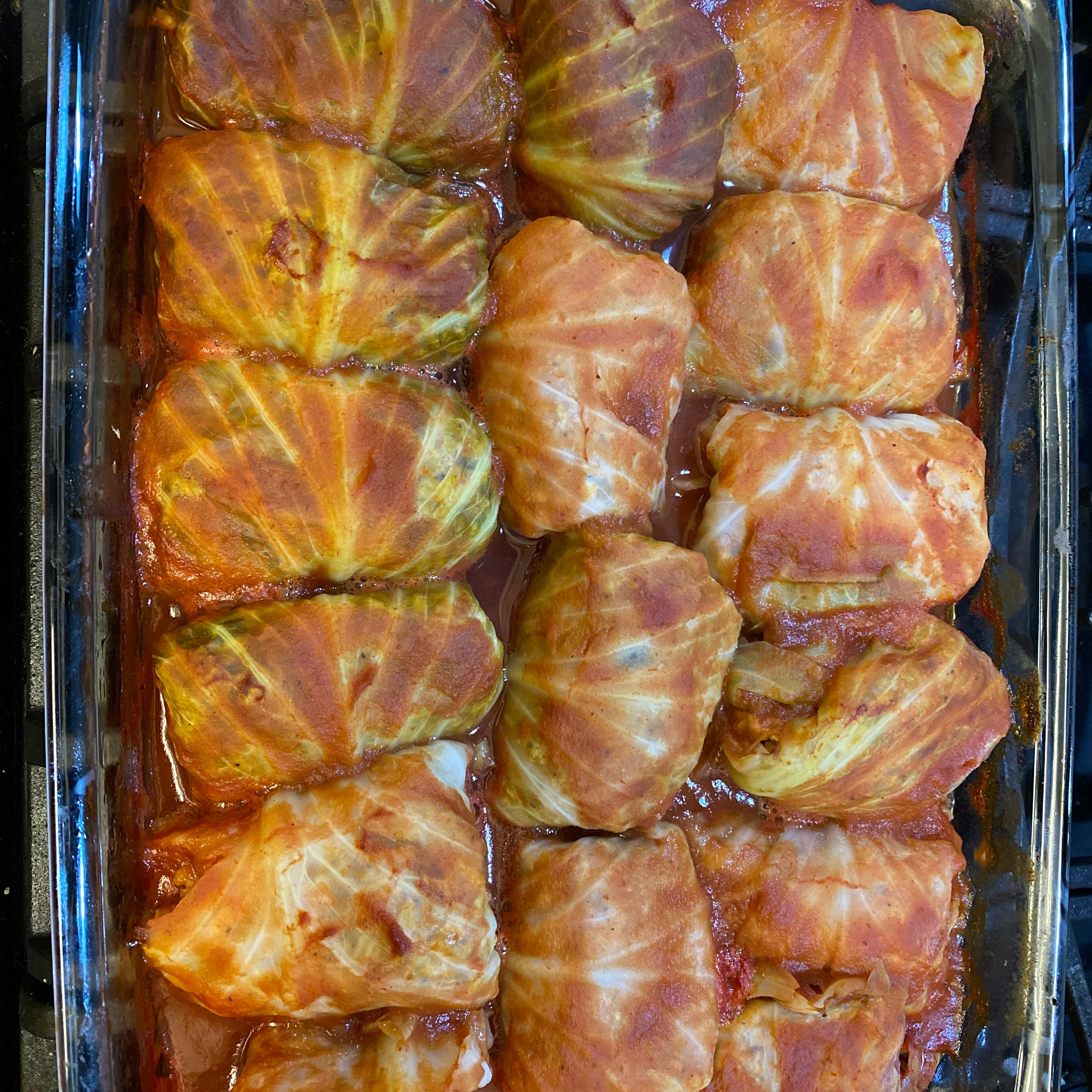 Turkey Cabbage Rolls Drake Kohn
