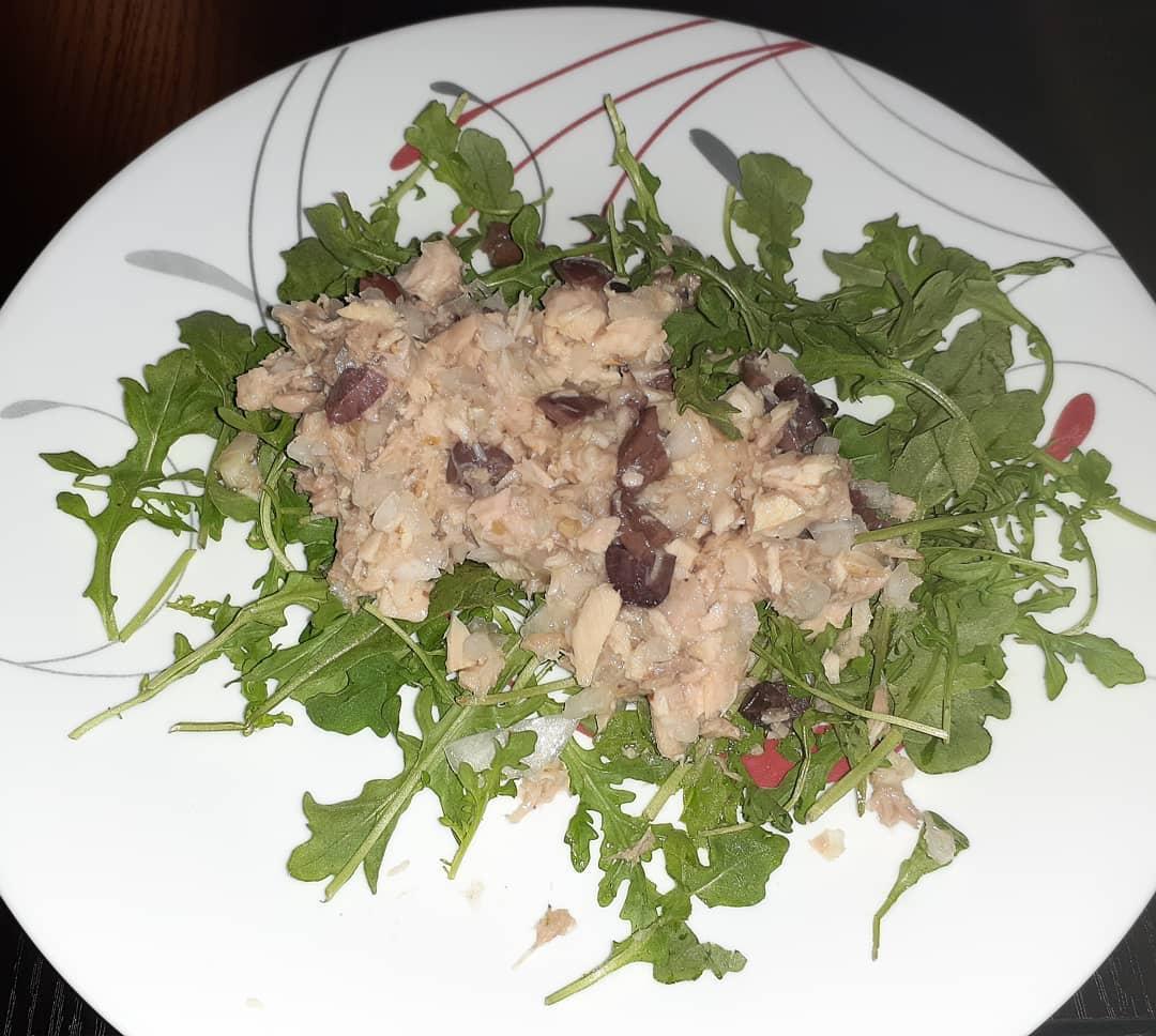 Greek-Style Tuna Salad Alyssa Montana