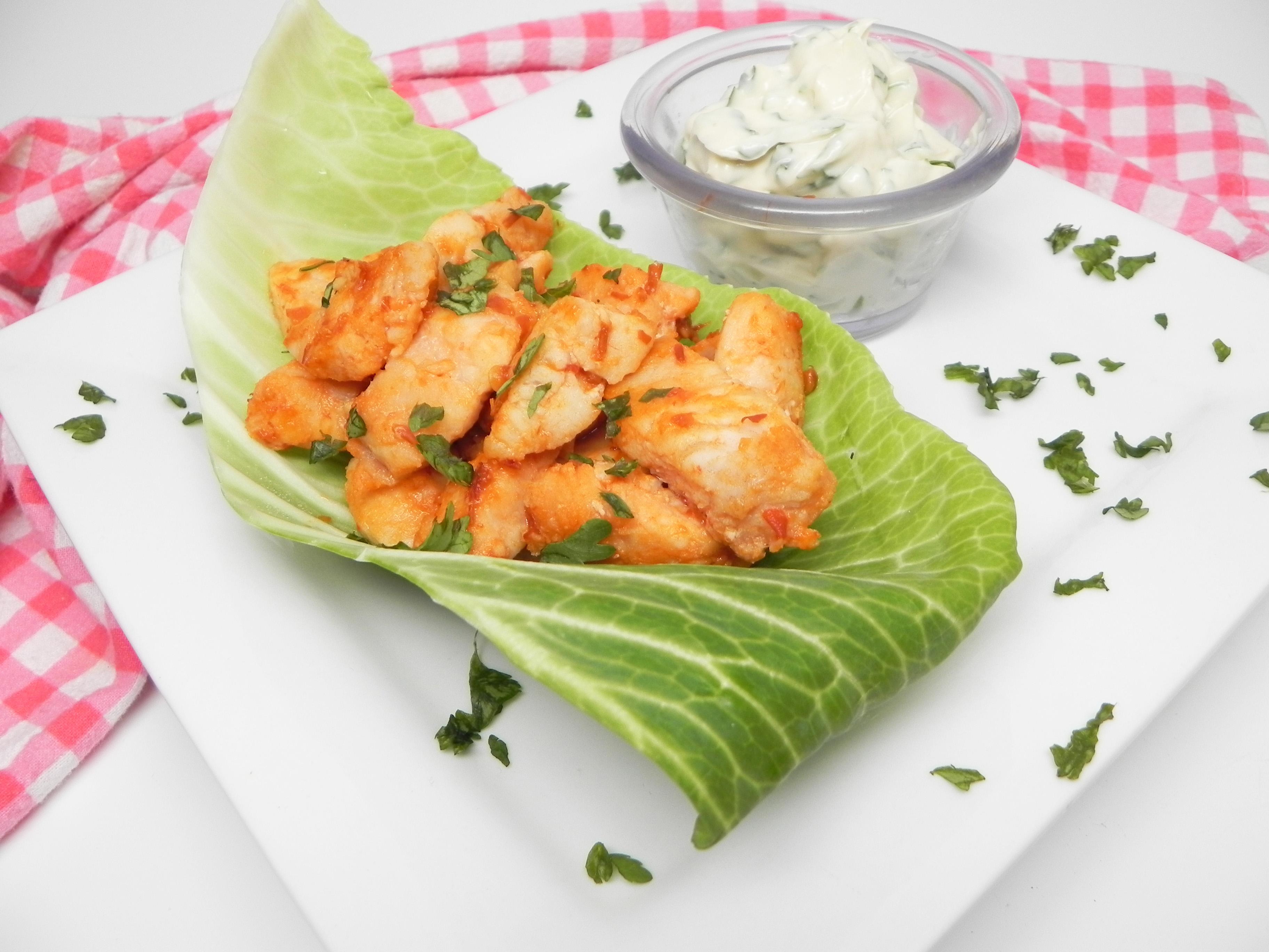 Fish Taco Cabbage Wraps