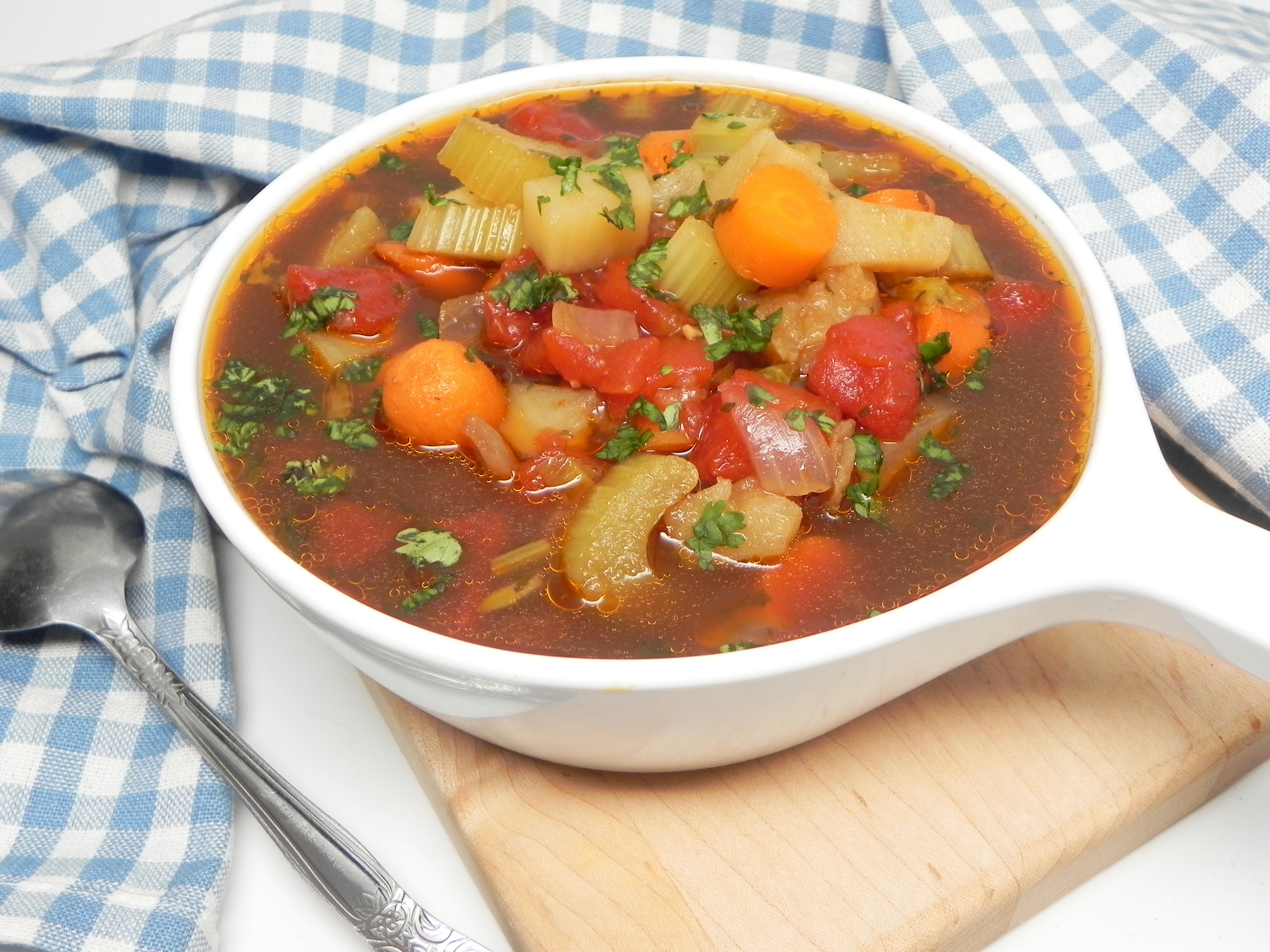 Old-Fashioned Vegetable Soup Soup Loving Nicole