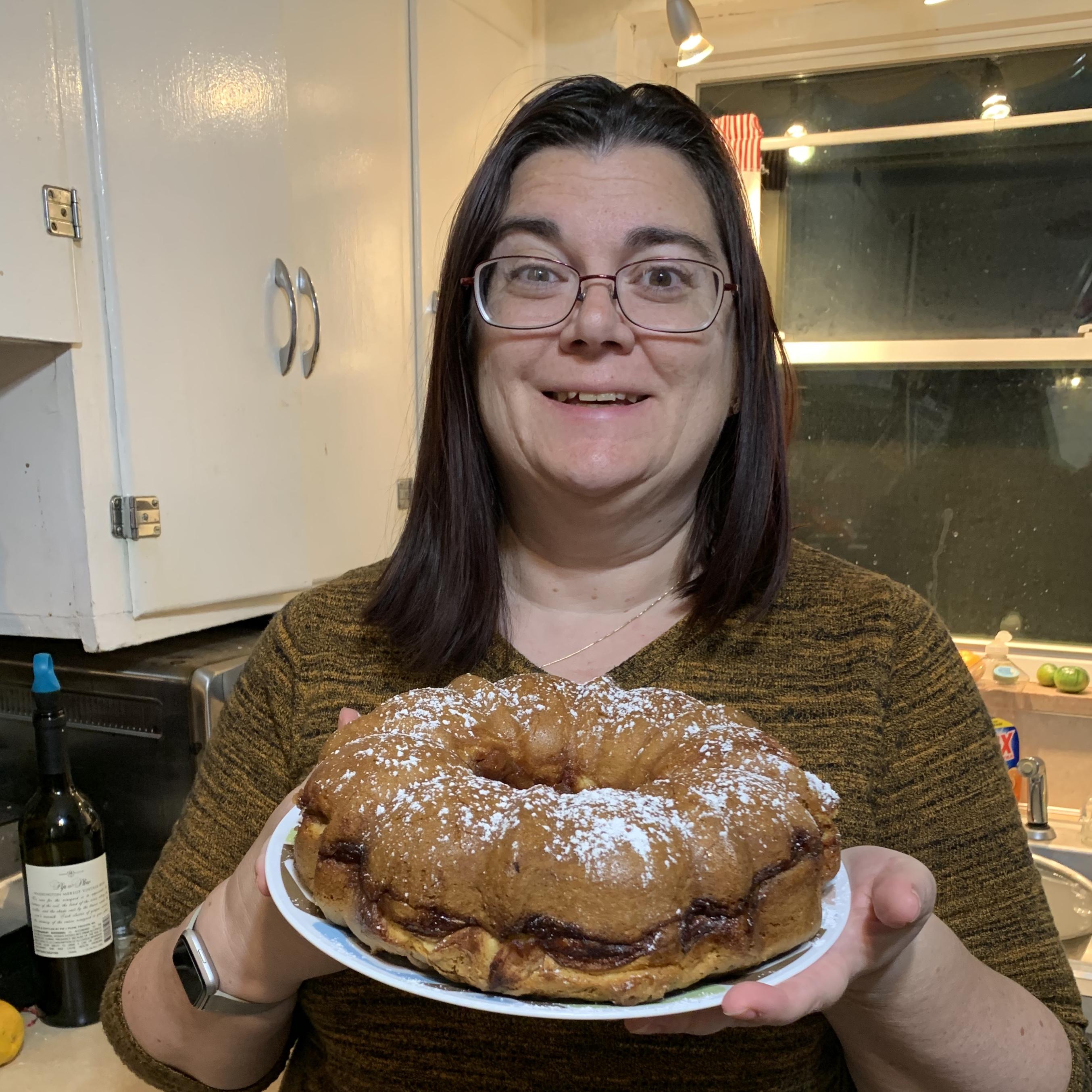 Mom's Favorite Jewish Apple Cake Suellen Jennings