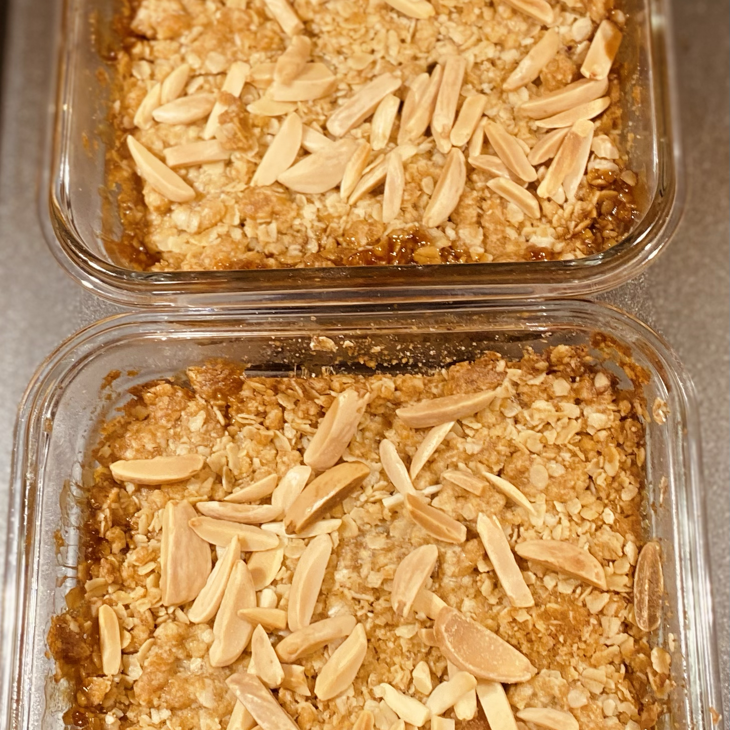 Apple and Pear Crumble Sharon Perry Schmidt