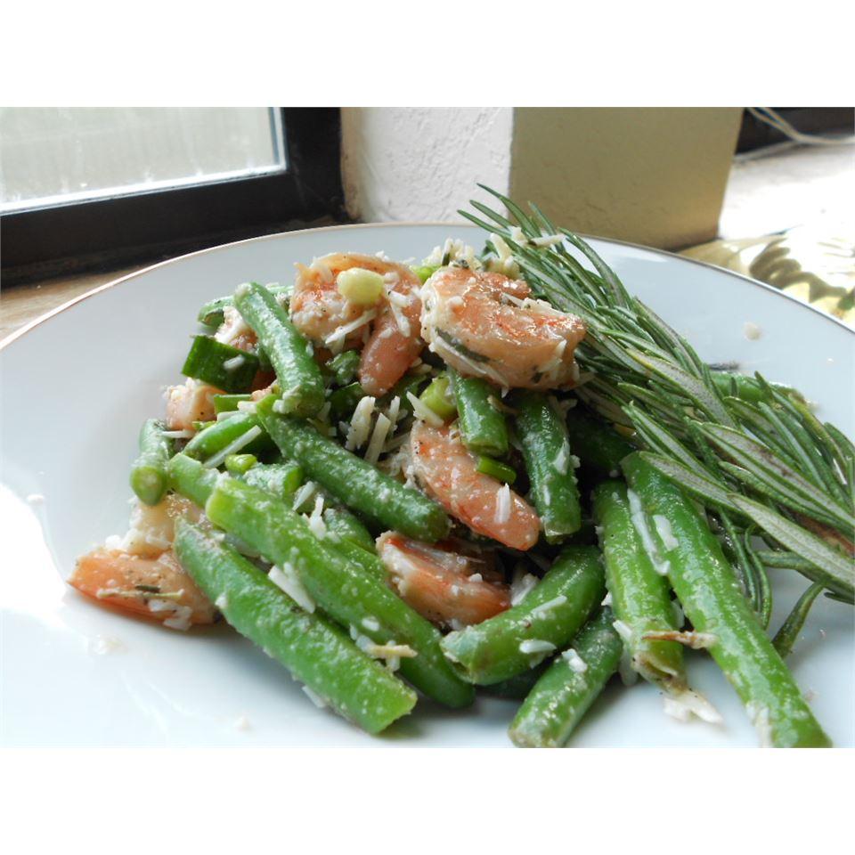Garlic Lover's Shrimp and Green Bean Salad kellieann