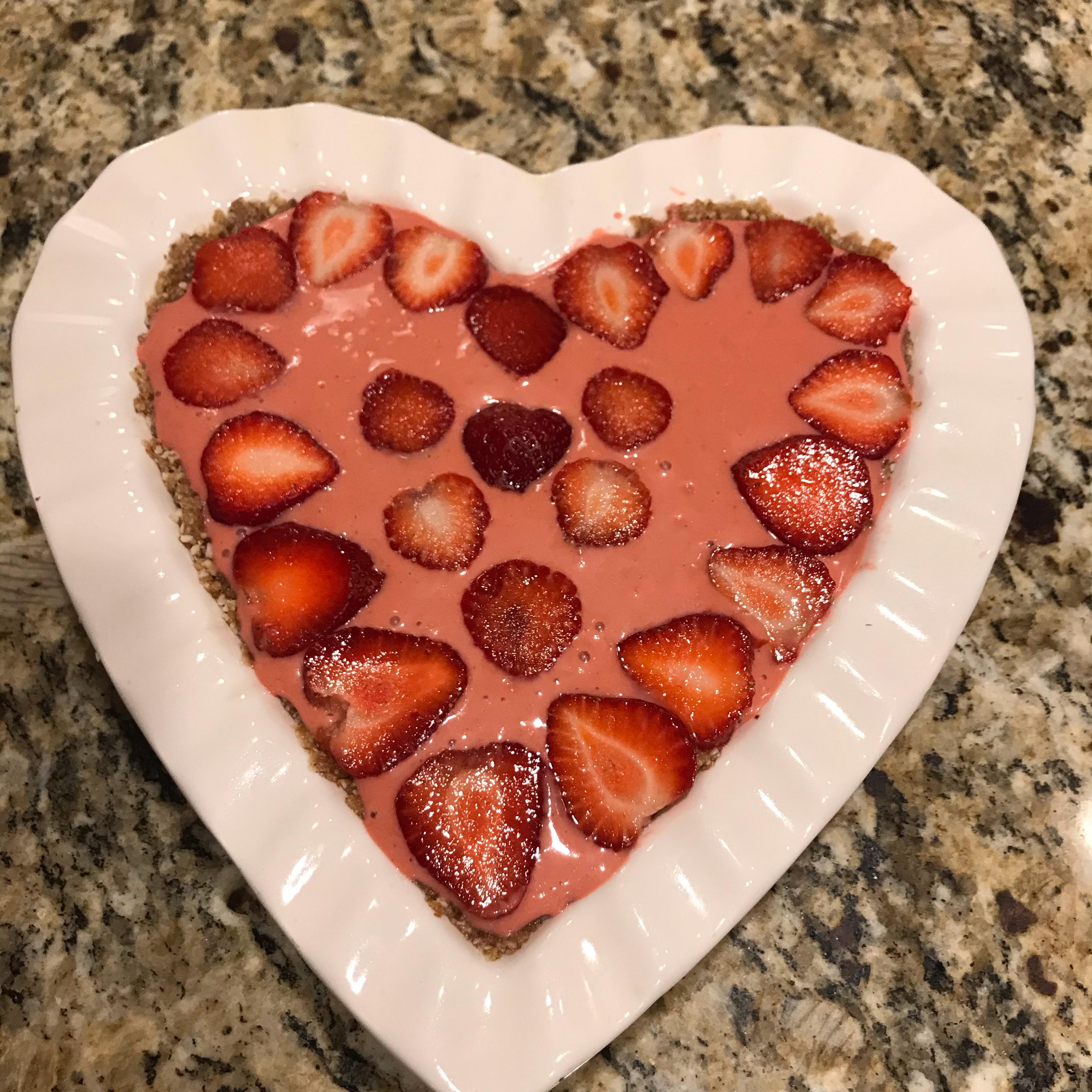 Raw Vegan Strawberry Pie Fabi