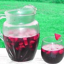 very cherry berry sangria recipe