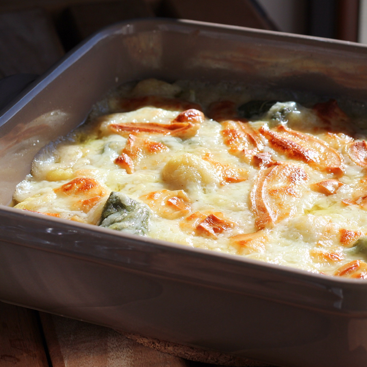 Baked Gnocchi with Sage and Cheese