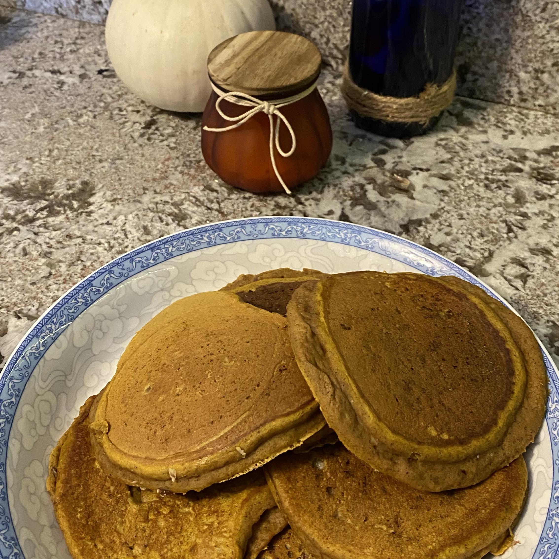 Pumpkin Pancakes Ricky Cohen