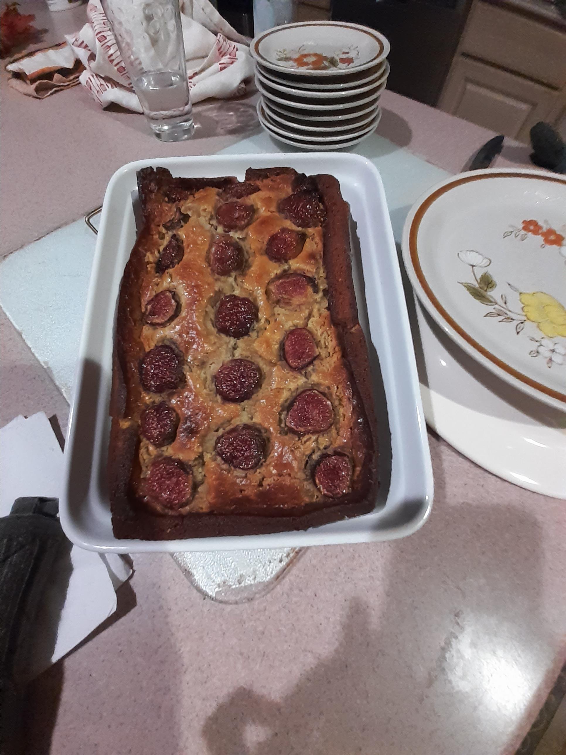 Fig-Ricotta Cake Georgina