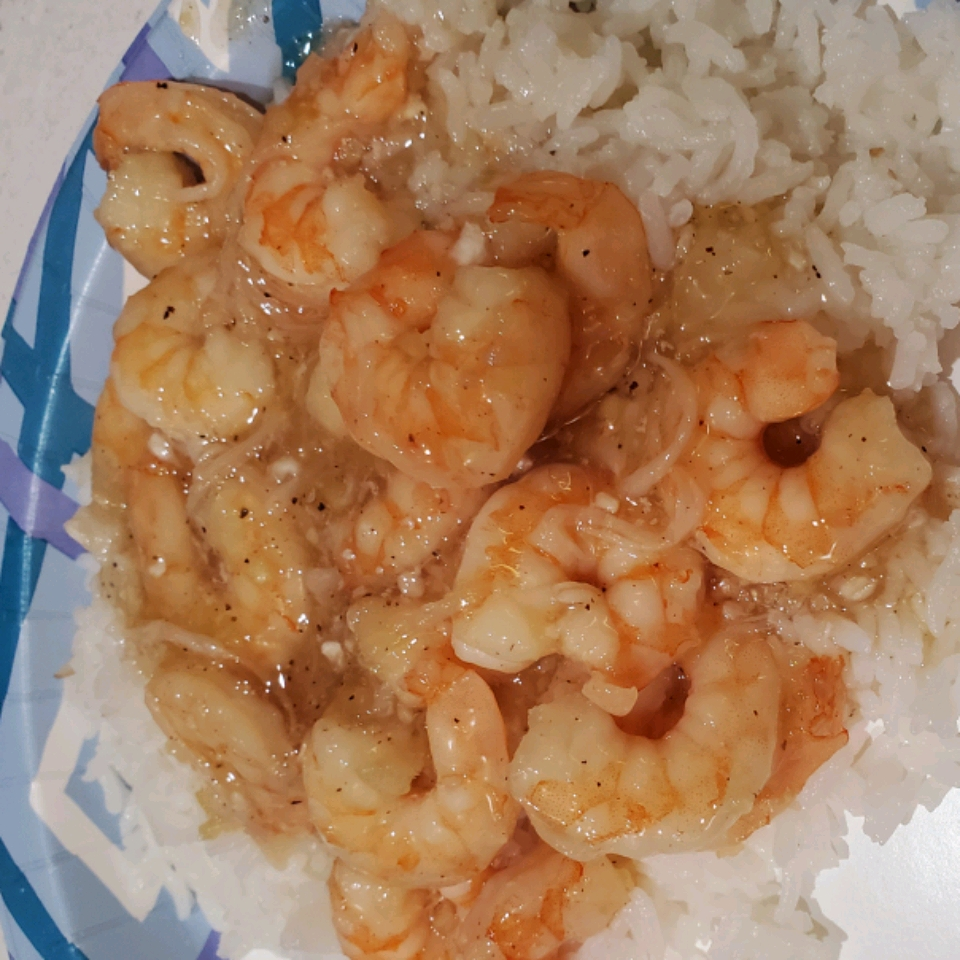 Instant Pot® Coconut-Caramel Shrimp Stephanie Evans