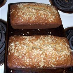 Oatmeal Banana Nut Bread Alyse Brown