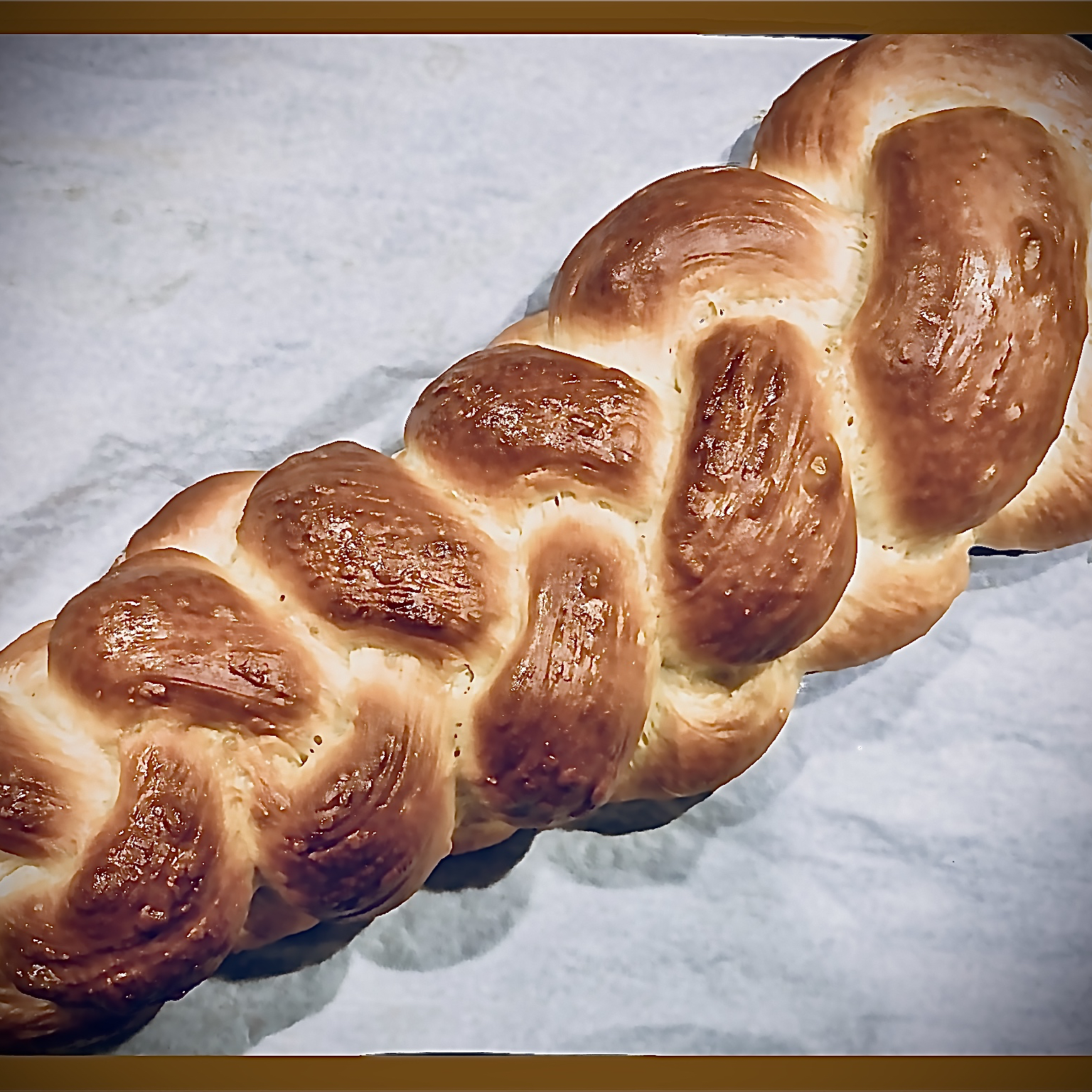 Hungarian Braided White Bread