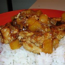 Pineapple Chicken Kristin