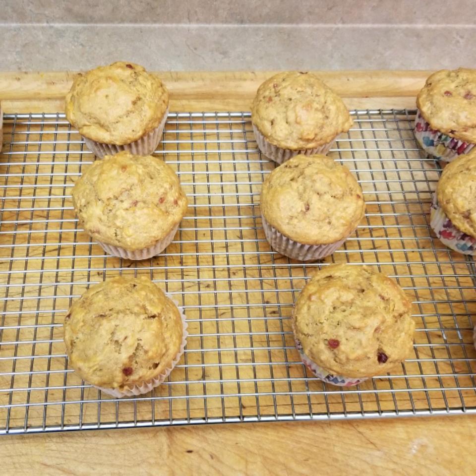 Healthy Sweet Potato Muffins