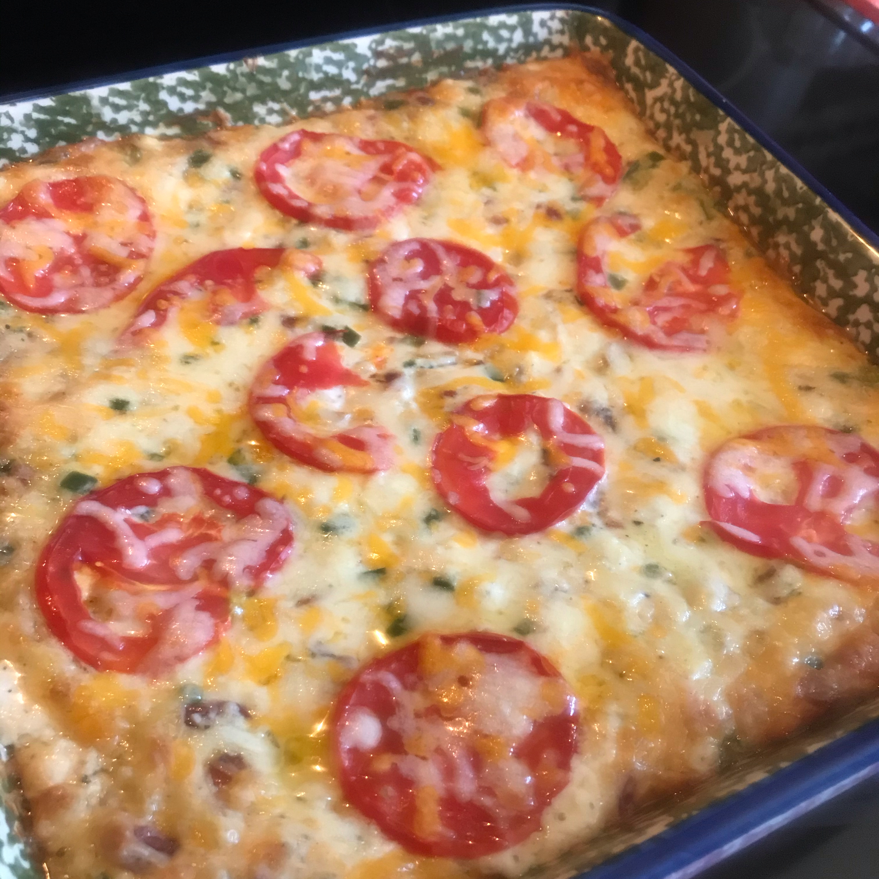 Jalapeno Popper Dip with Bacon