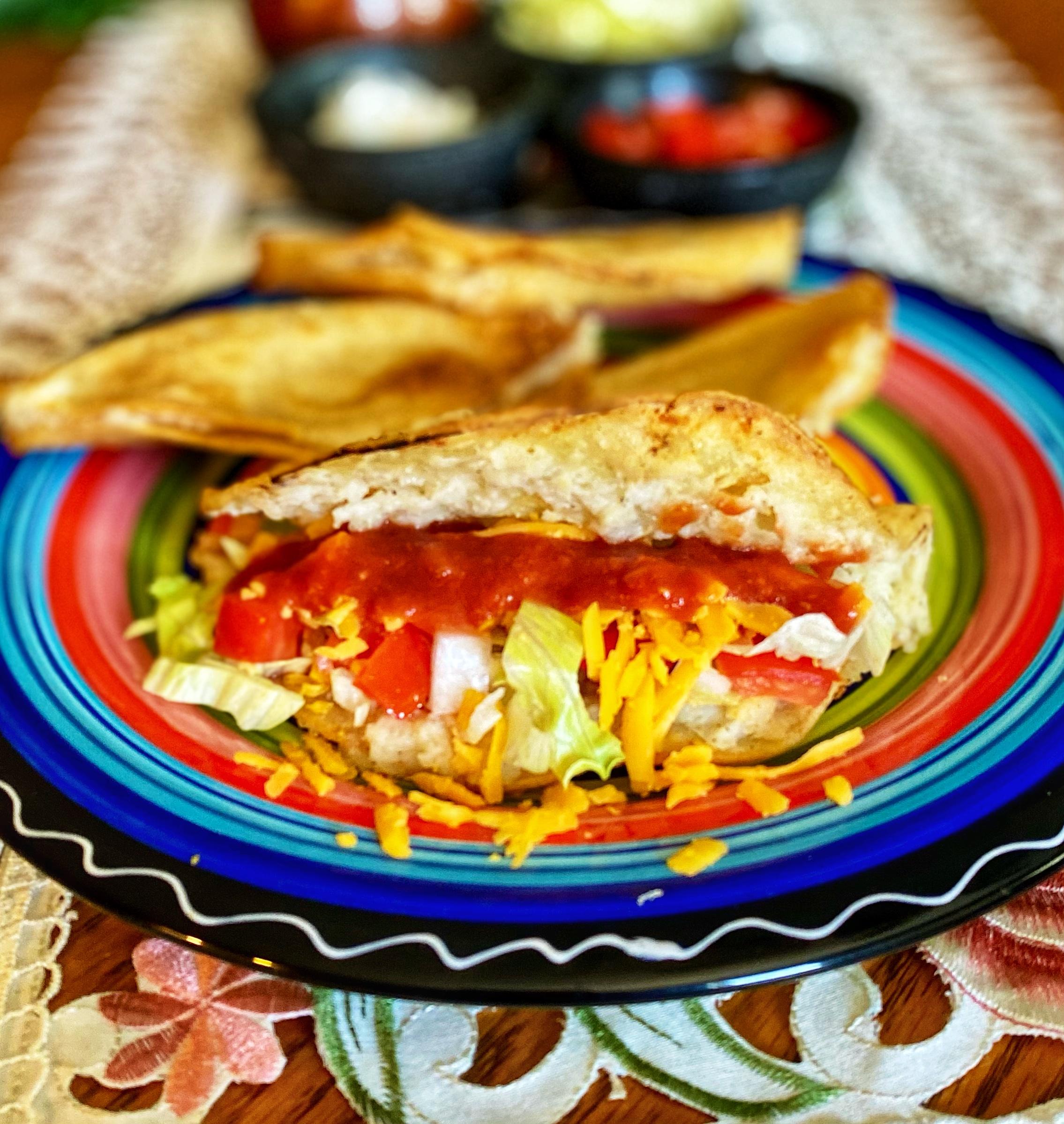 Air Fryer Vegan Tacos