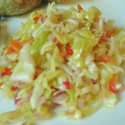 Angie's Dad's Best Cabbage Coleslaw MattOlay V-H