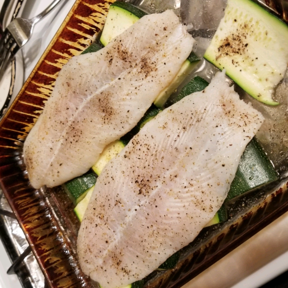 Baked Fish Dinner For Two