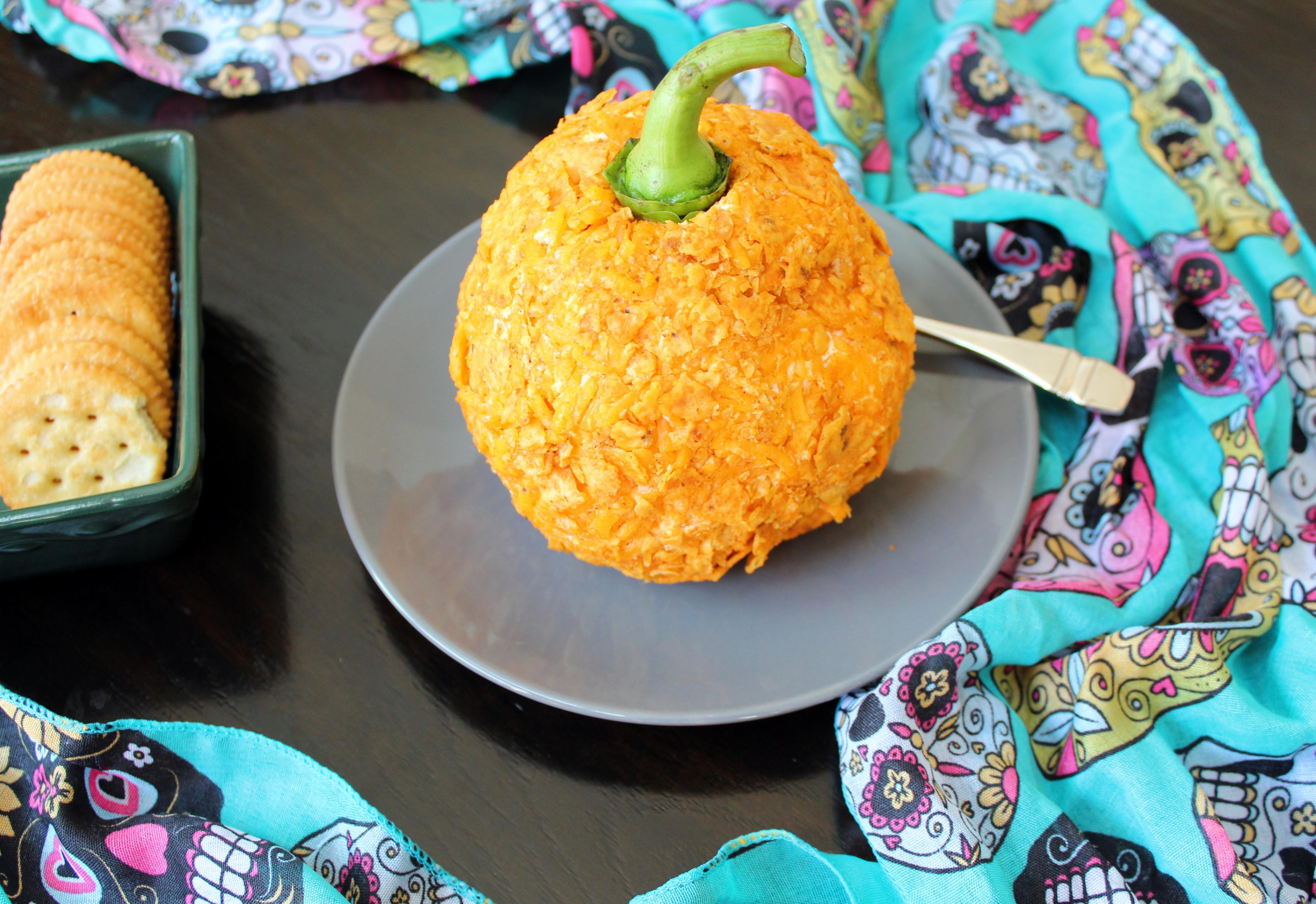 Halloween Cheese Ball
