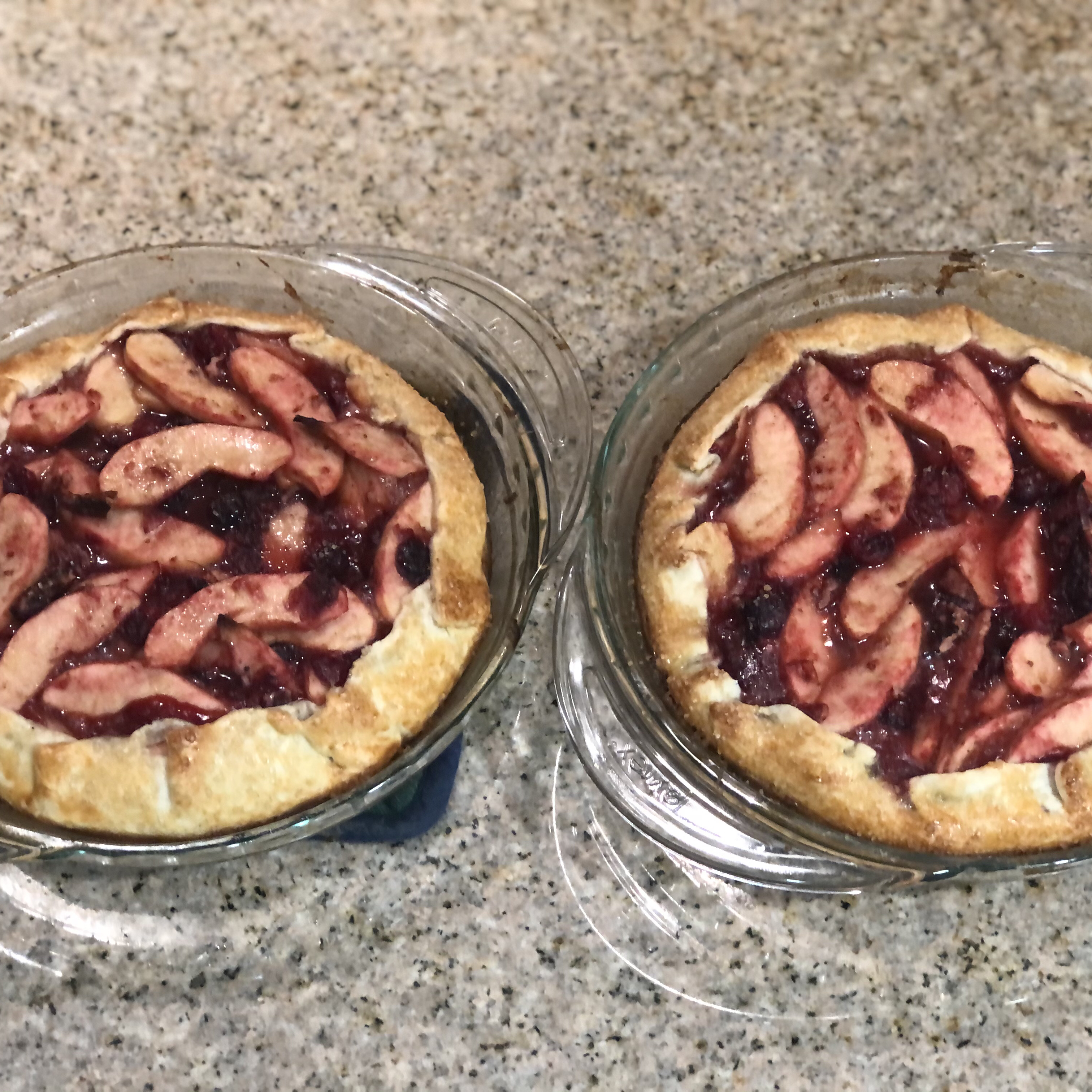 Apple-Cranberry Tart