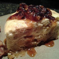 Maple Bacon-Cinnamon Bun Cheesecake