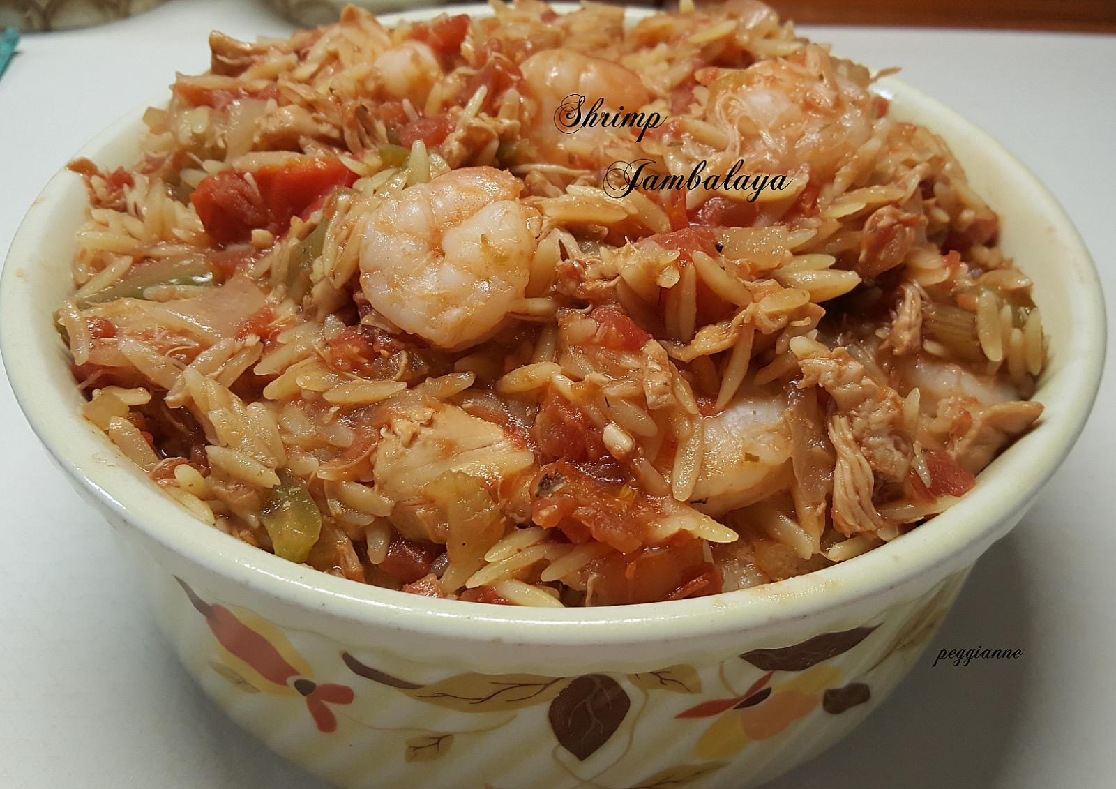 Shrimp Jambalaya Peggianne