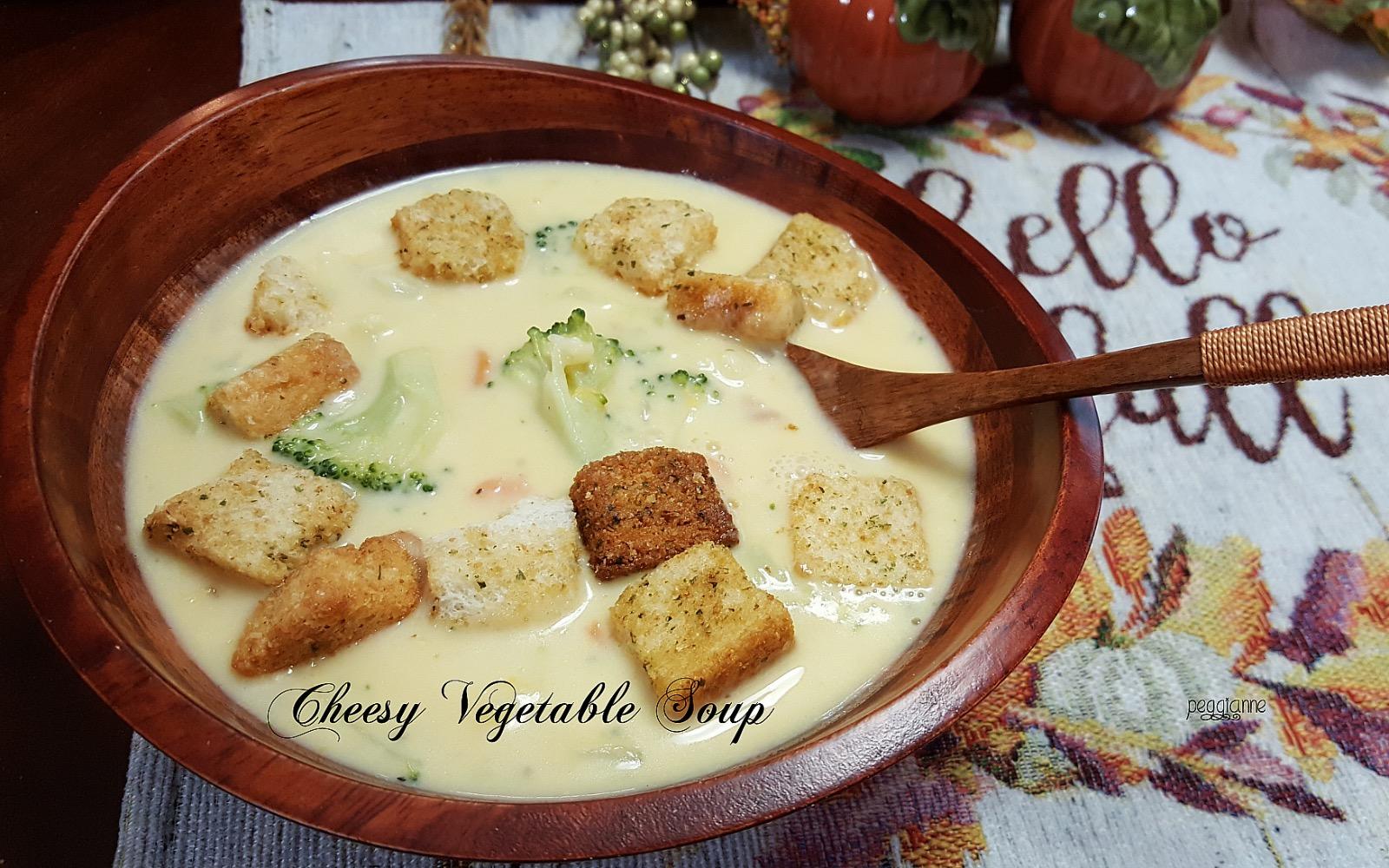 Cheesy Vegetable Soup I