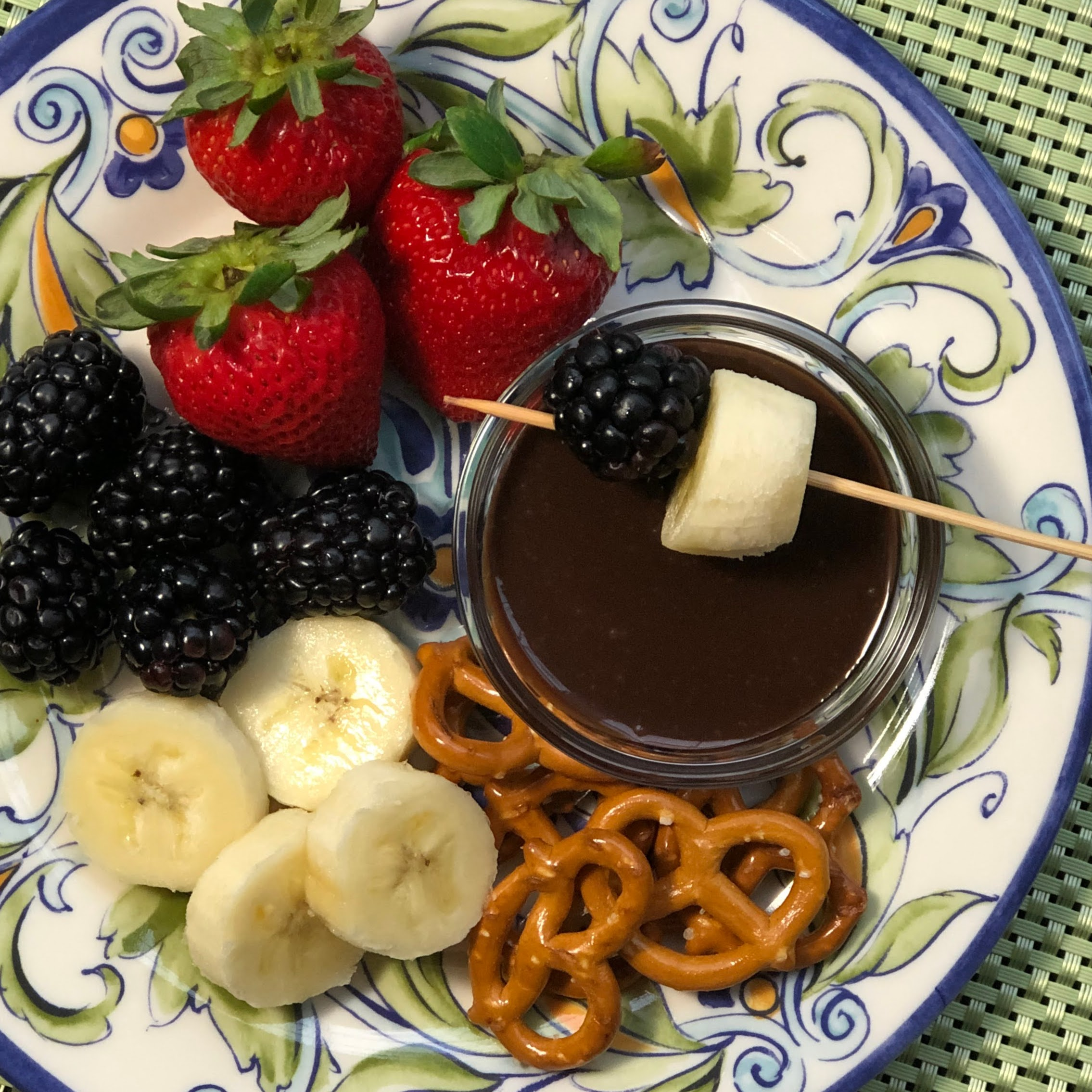 Totally Groovy Chocolate Fondue Kim's Cooking Now