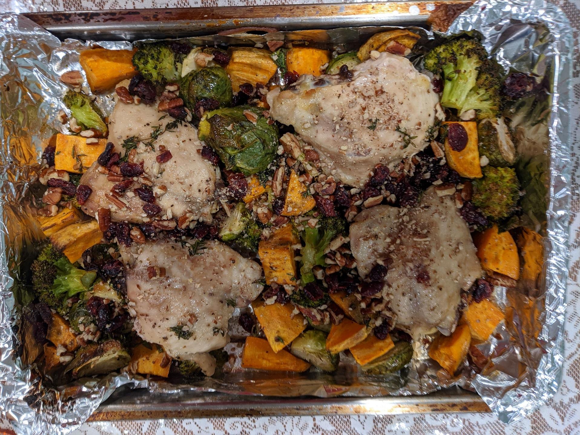 Maple-Roasted Chicken Thighs Ken Harris