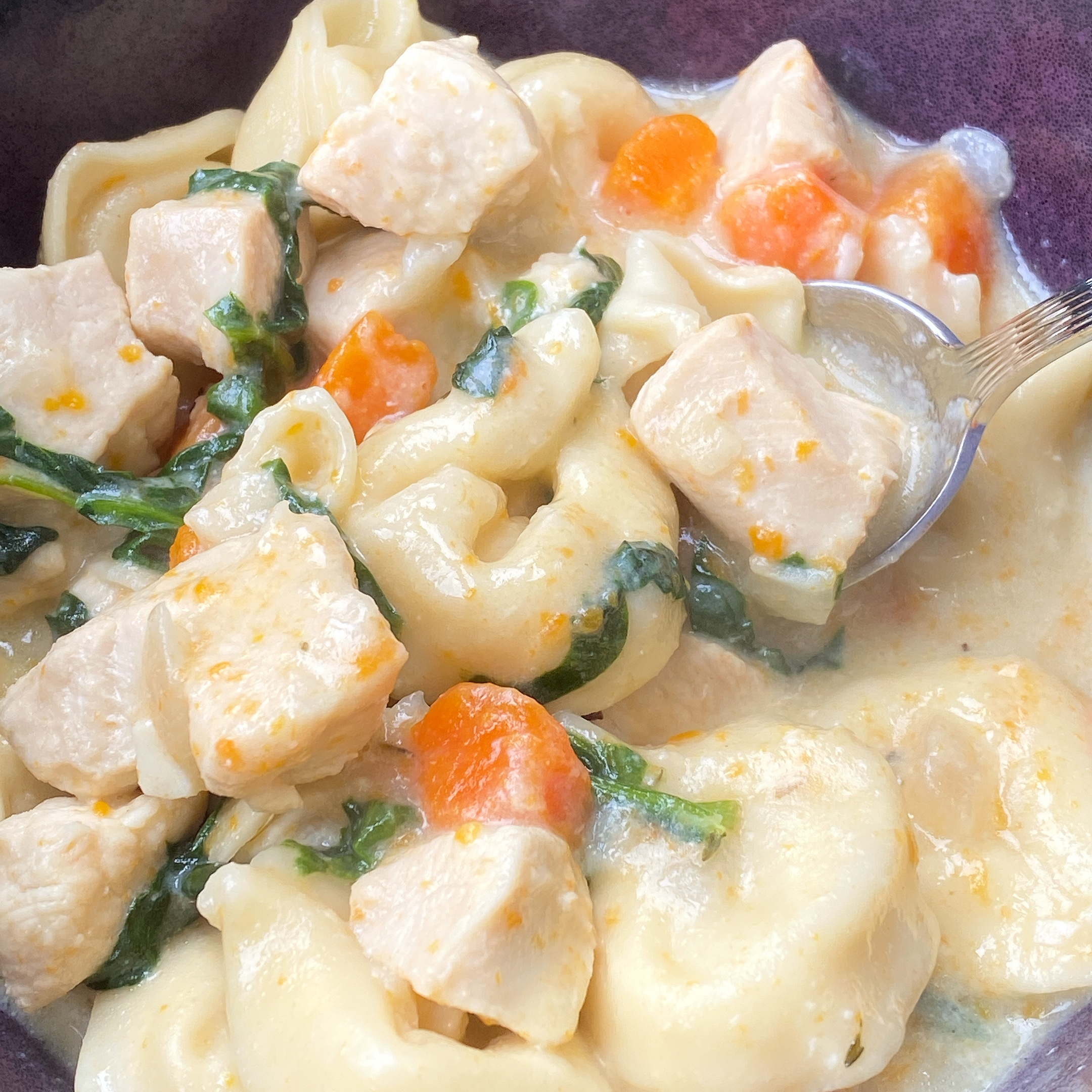 Instant Pot® Chicken Tortellini Soup