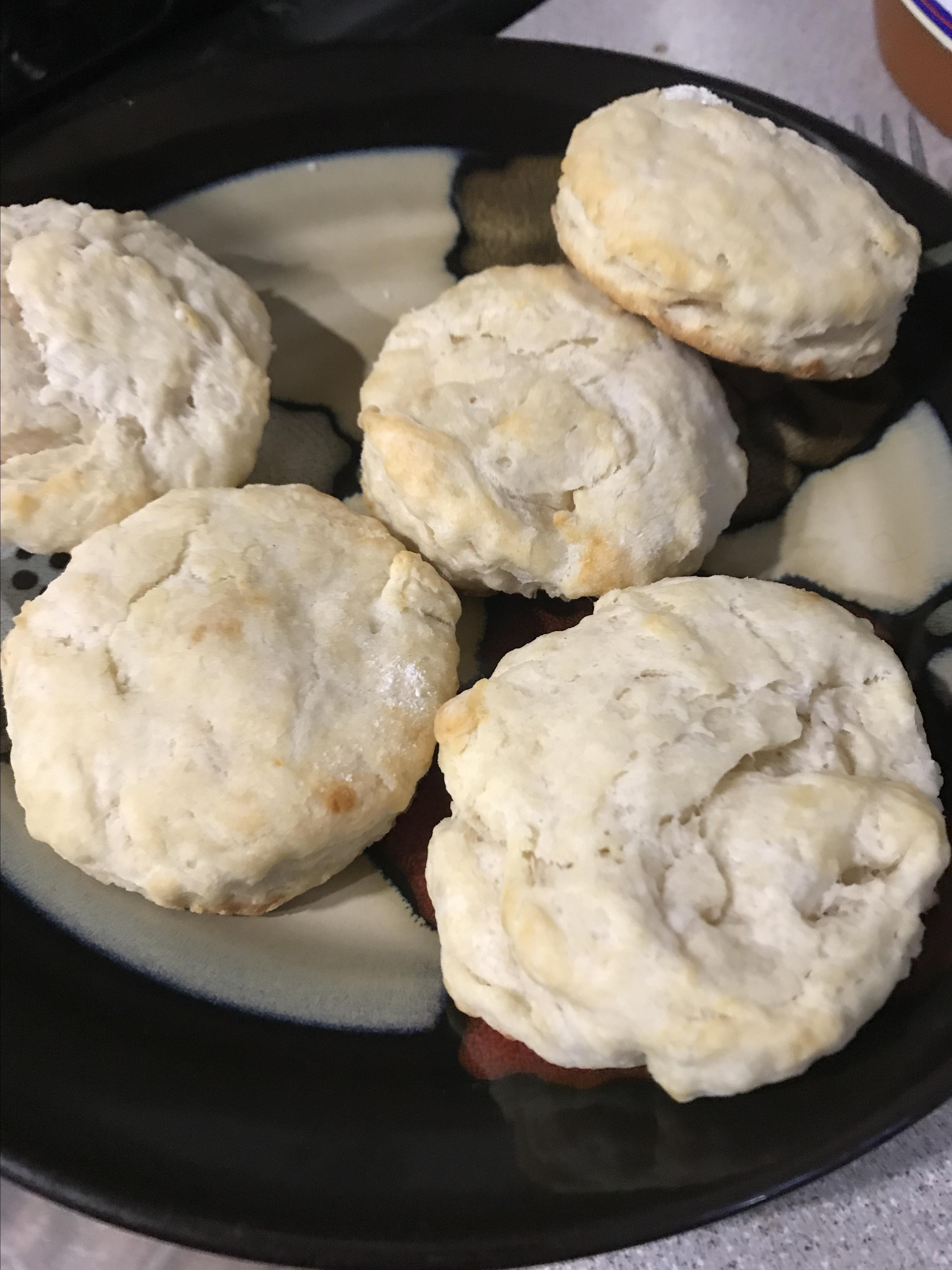 Fluffy Sour Cream Biscuits Santerra