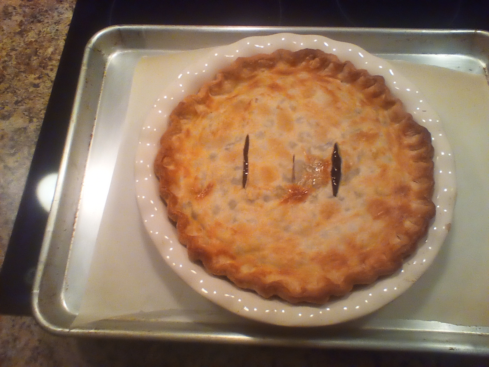 Blueberry Pie with Frozen Berries Nancy Lowry