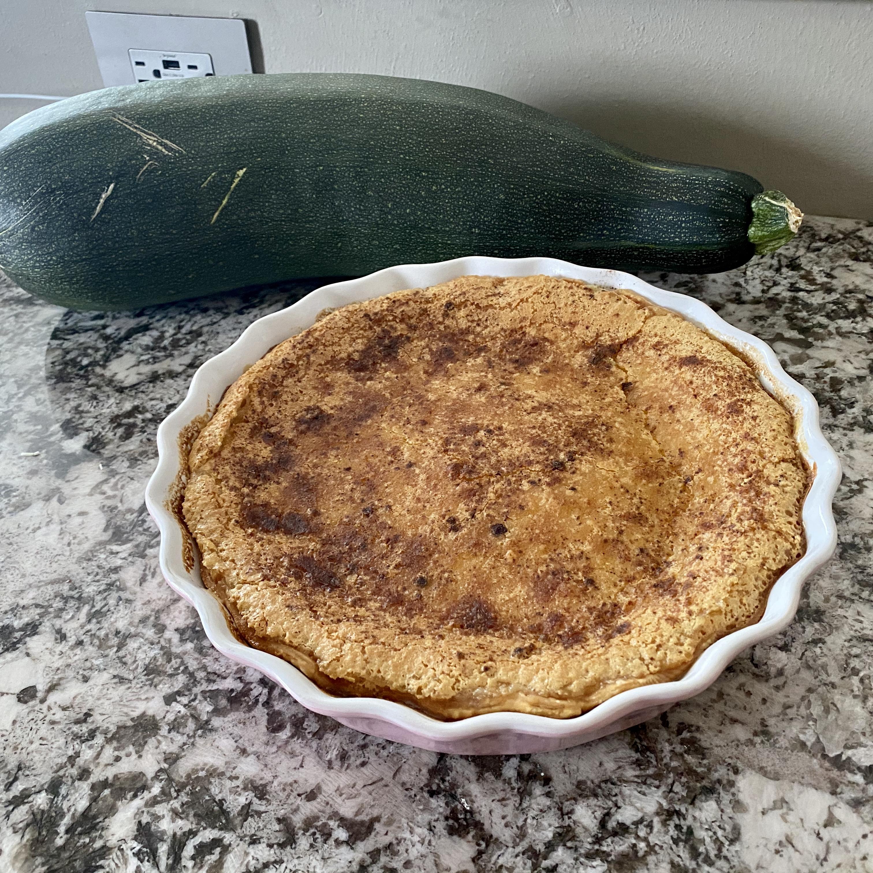 Zucchini Pie I Kris Phillips
