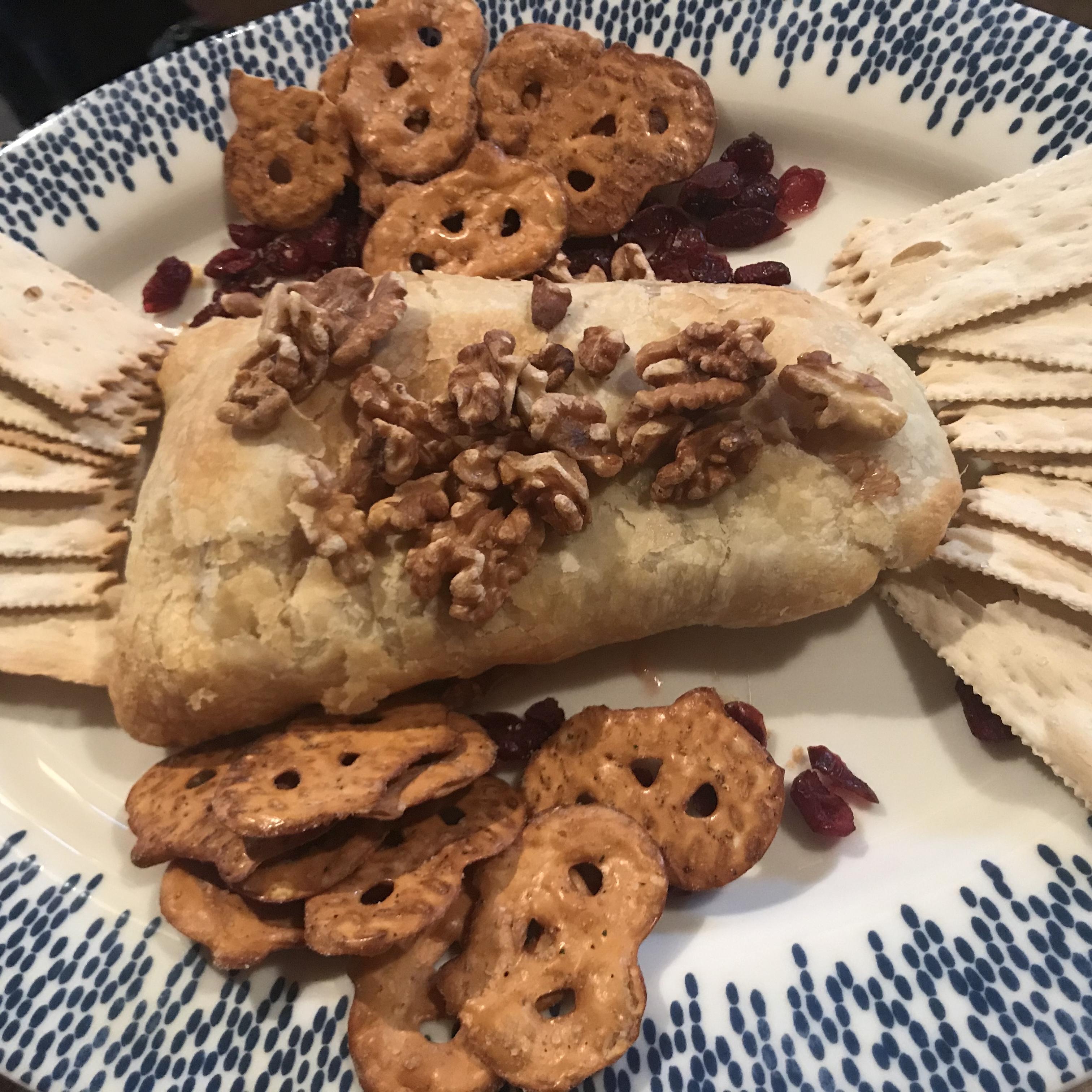 Raspberry Walnut Baked Brie Hilary Waldron Gross