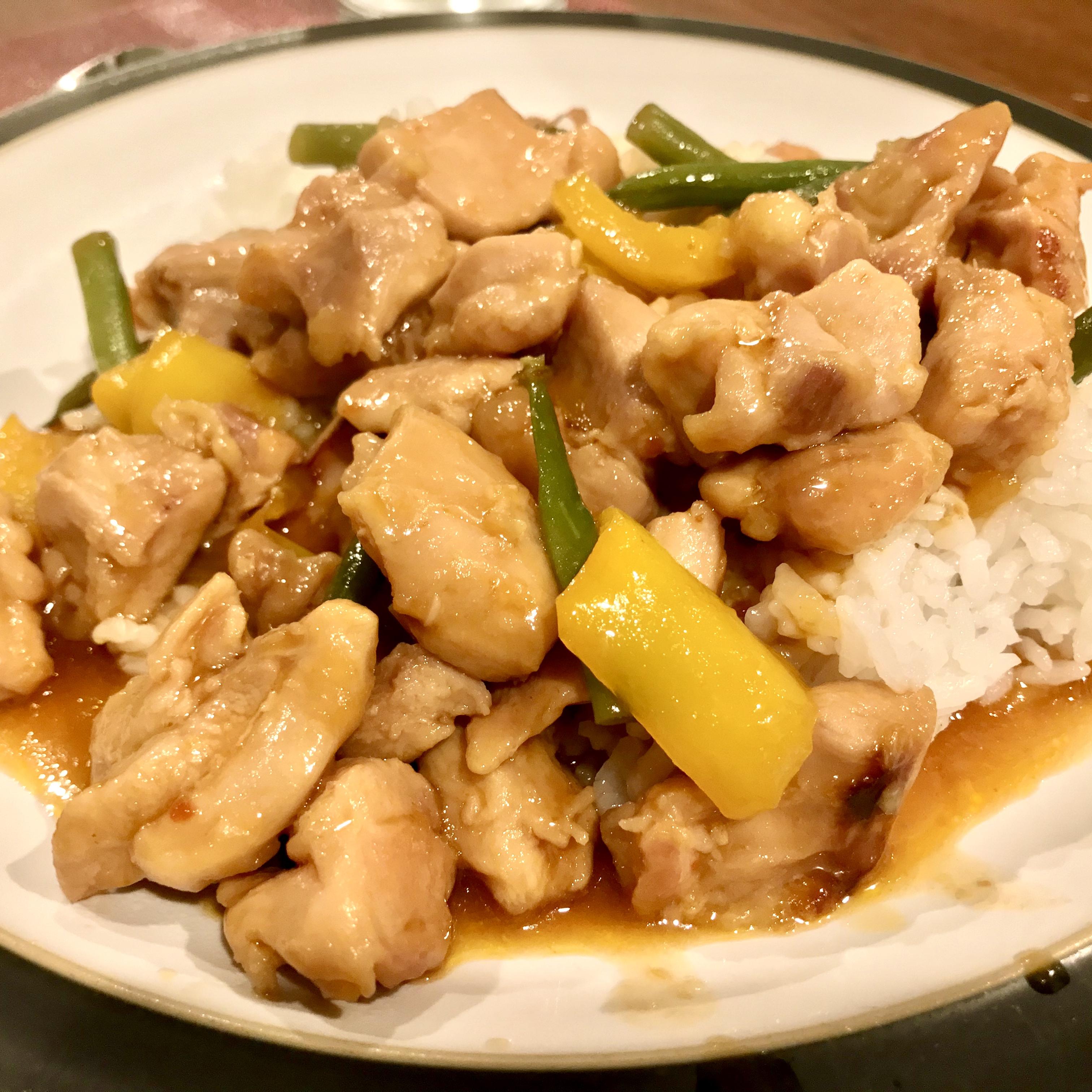Instant Pot® Honey-Garlic Chicken