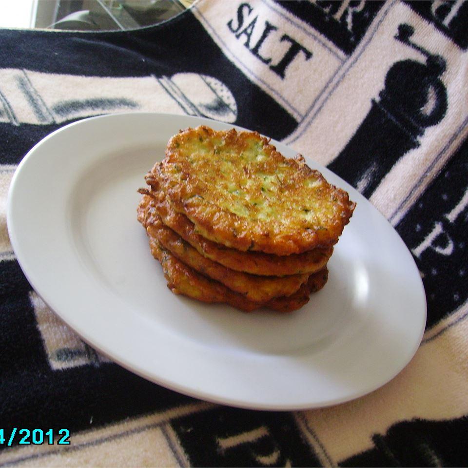 Mom's Zucchini Pancakes