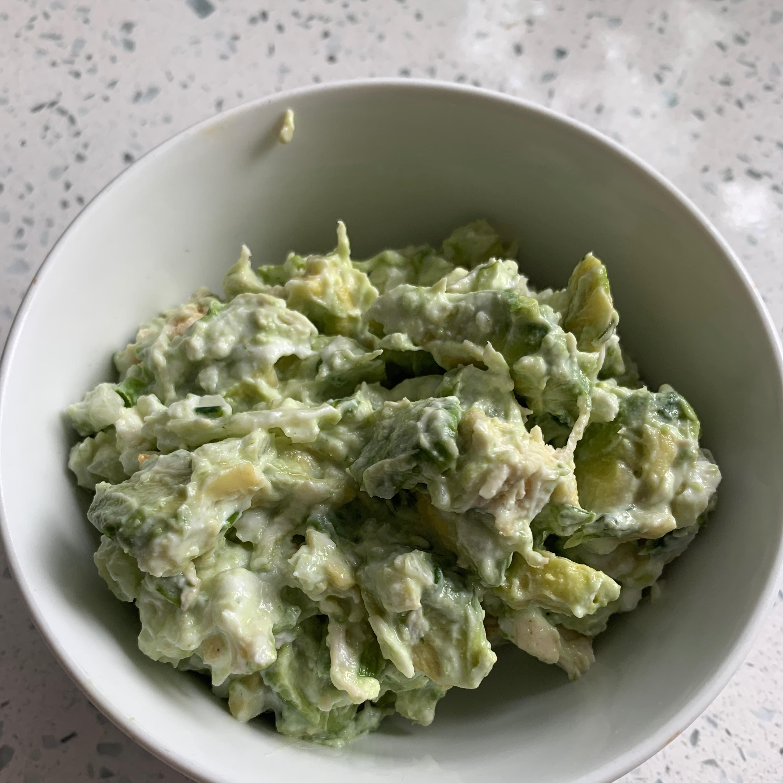 Quick Avocado Chicken Salad