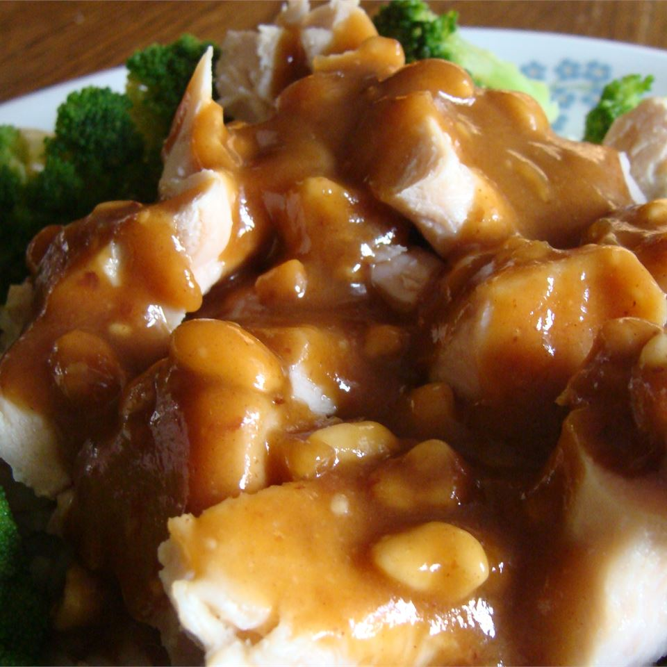 Thai-Style Peanut Sauce with Honey Caroline Christie
