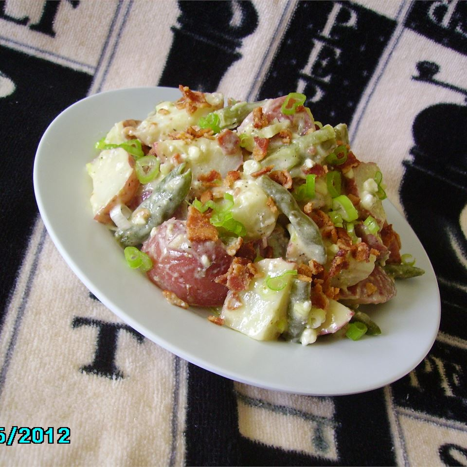 Blue Cheese and Bacon Potato Salad