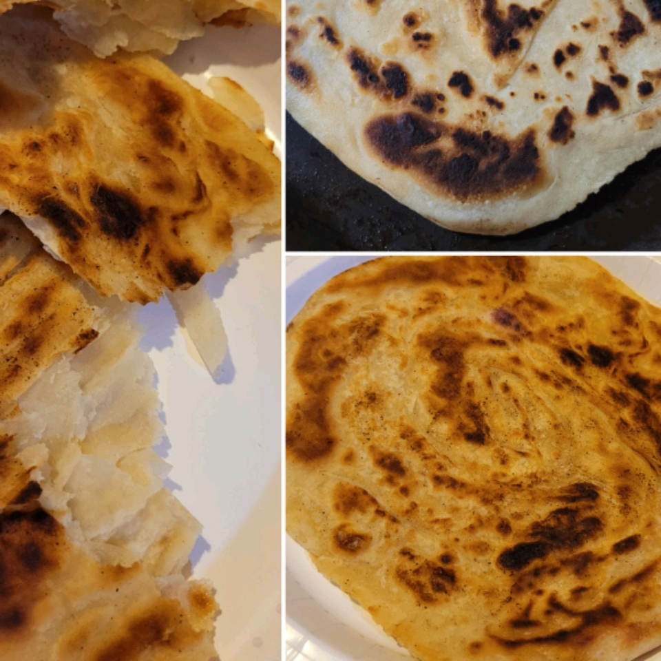 Roti Canai/Paratha (Indian Pancake) Laura Cosme Castro