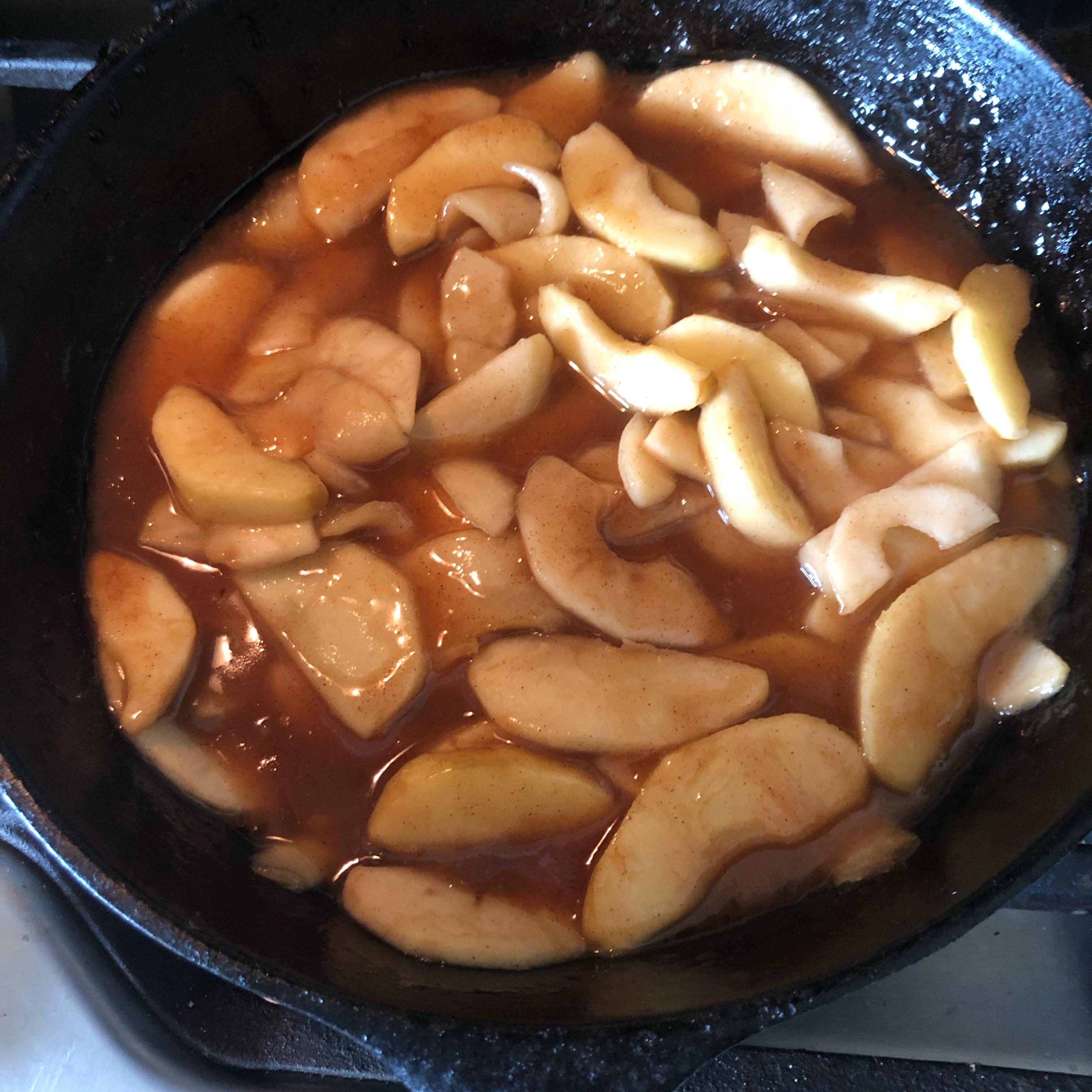 Sauteed Apples peckerwood